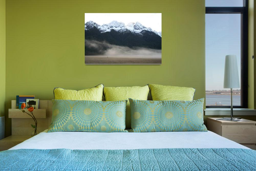 """Mountains, New Zealand&quot  (2006) by ElizabethWoodson"