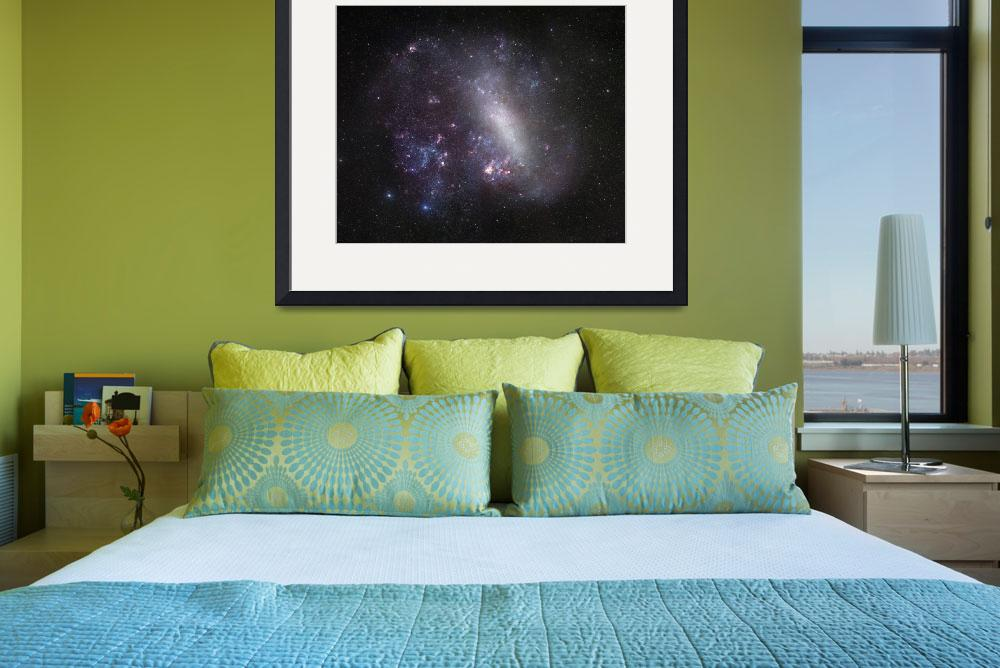 """Large Magellanic Cloud&quot  by stocktrekimages"