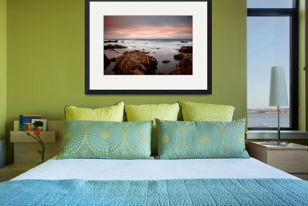 """65 seconds of sunset - ocean seascape&quot  (2007) by miir"