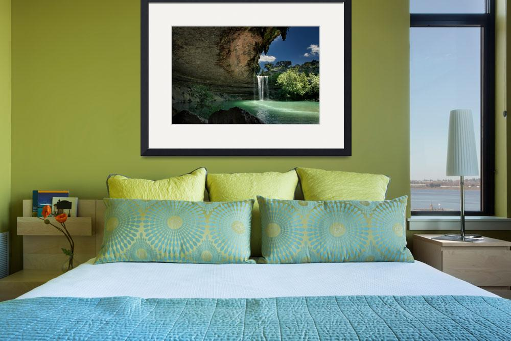 """Hamilton Pool (2011, large)&quot  (2011) by dawilson"