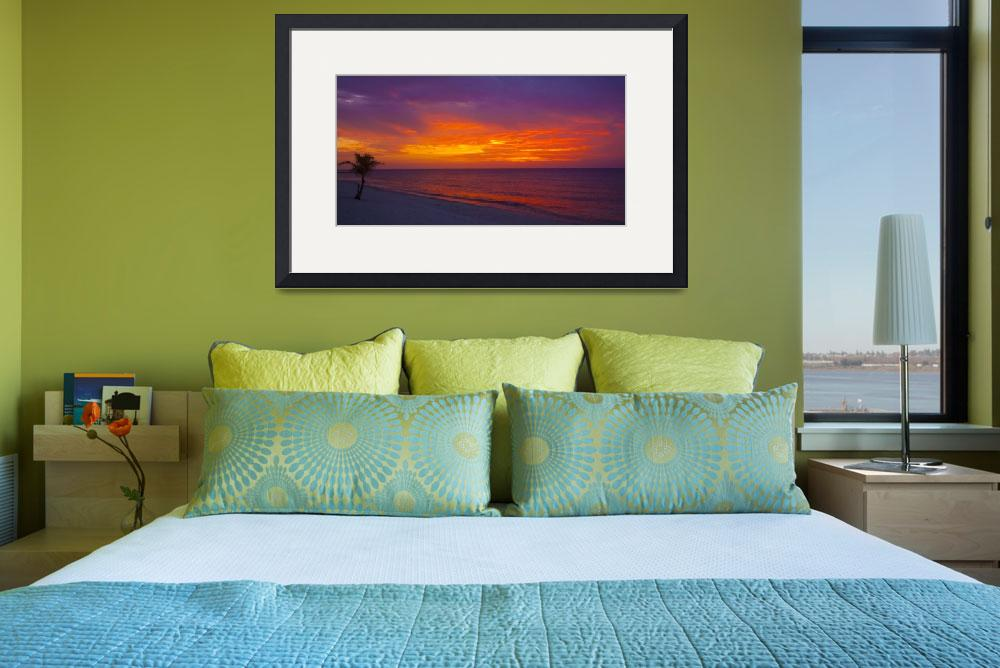 """Conch Pointe Beach Sunset&quot  (2010) by charleslloyd"