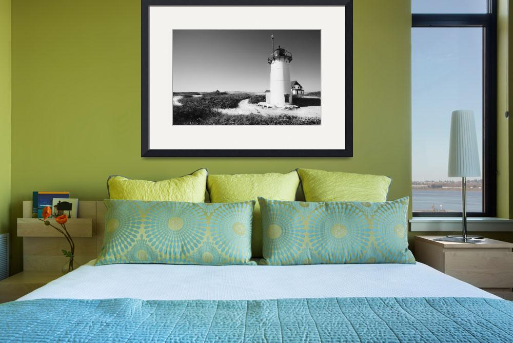 """Black And White Lighthouse Photography&quot  (2008) by Black_White_Photos"