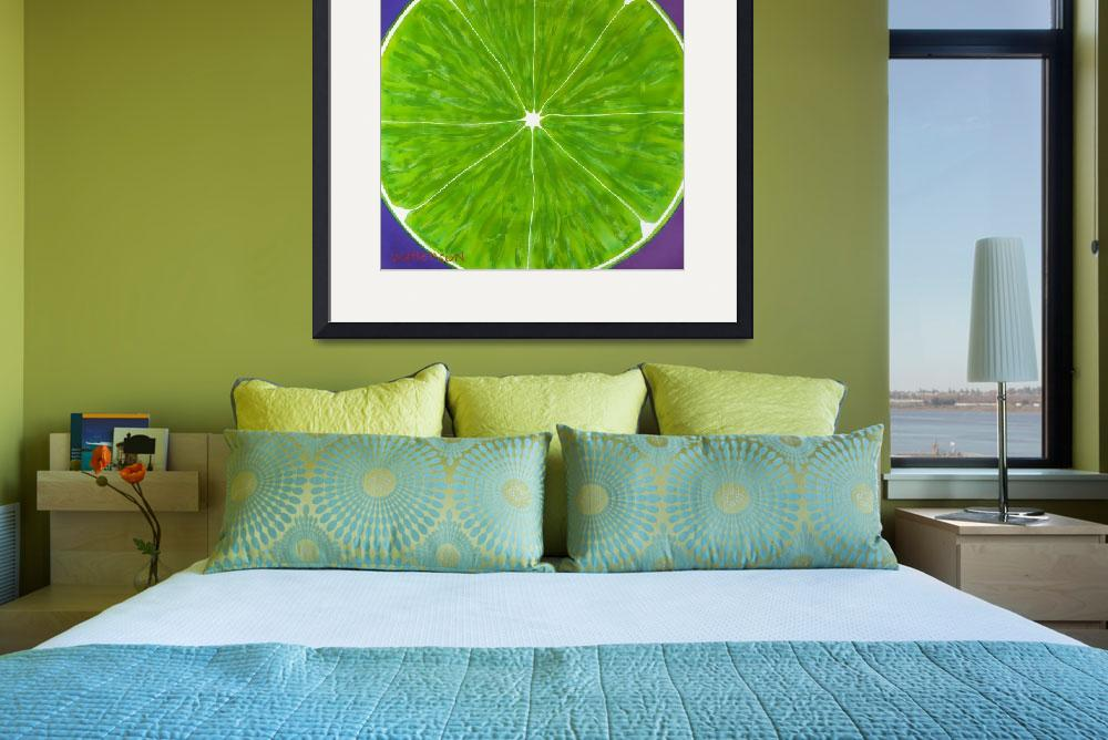"""Texas Lime&quot  (2011) by TexasPopArt"