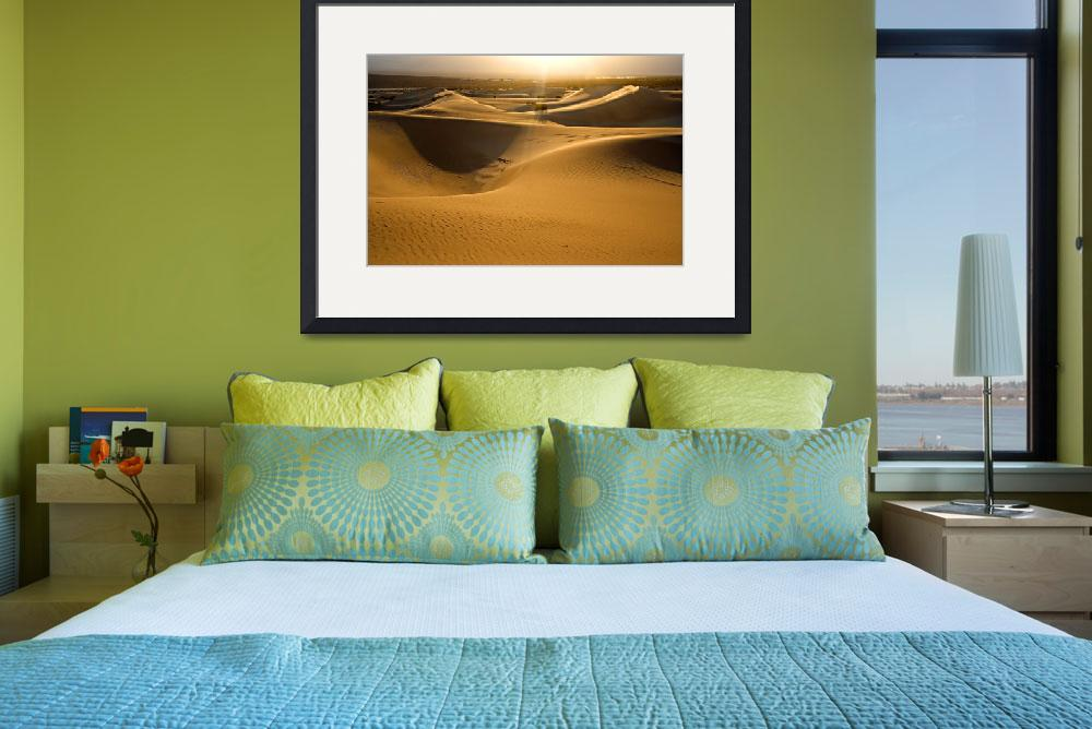 """SAND DUNES&quot  (2008) by Alex-Vacca-Photography"