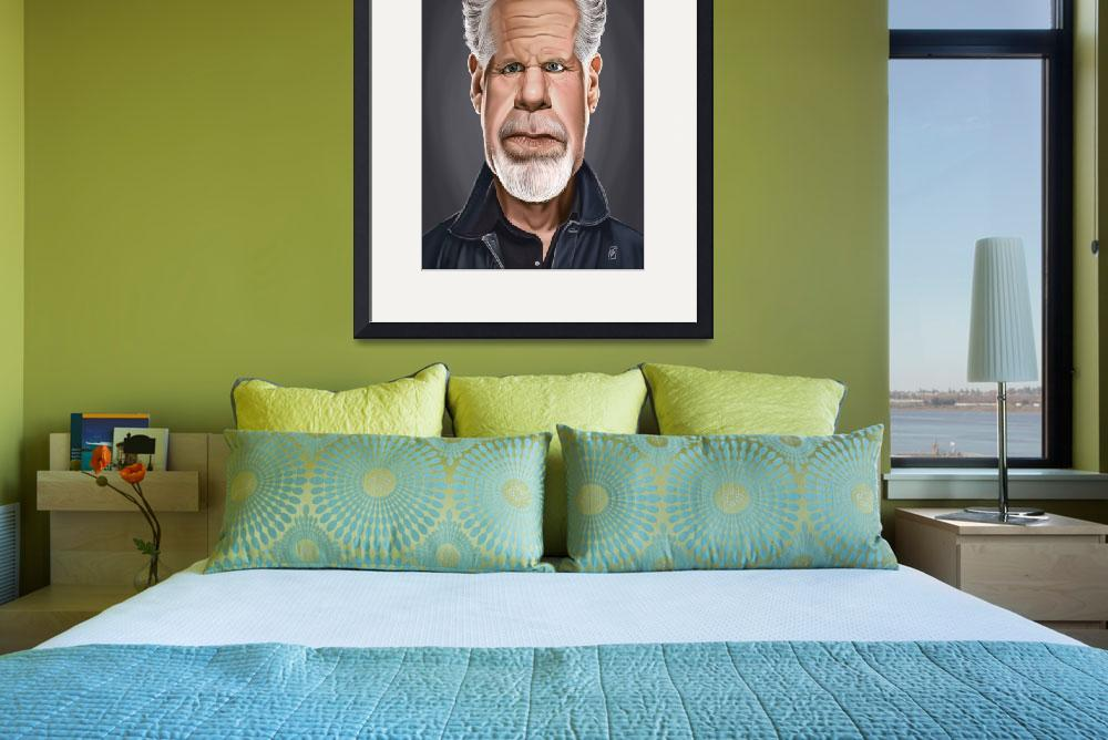 """Celebrity Sunday - Ron Perlman&quot  (2015) by rob_snow"