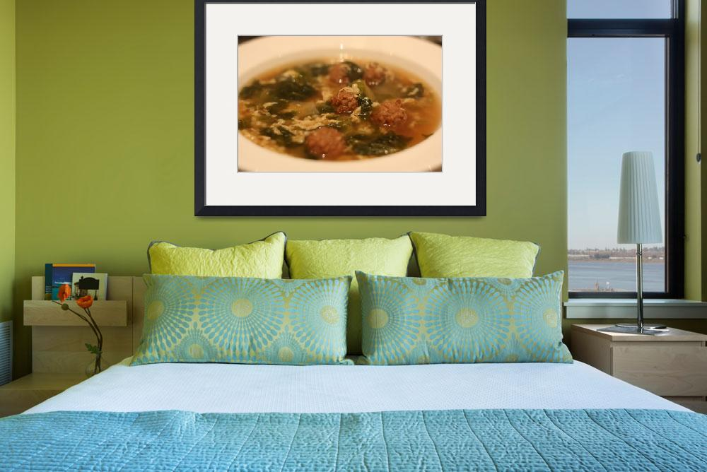 """Italian Wedding Soup&quot  (2011) by frankpas"