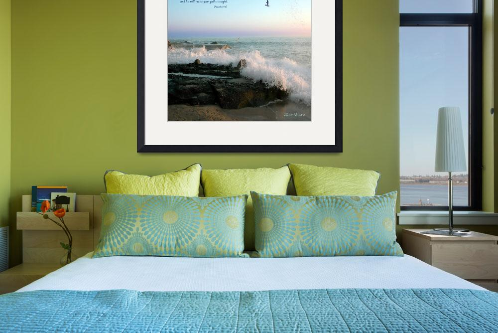 """Laguna Beach Waves 2&quot  (2010) by Karenmezzano"