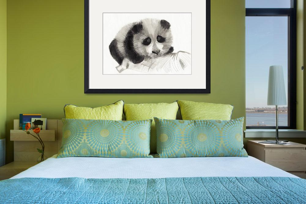 """Panda (Watercolor)&quot  (2013) by stefanogemi"