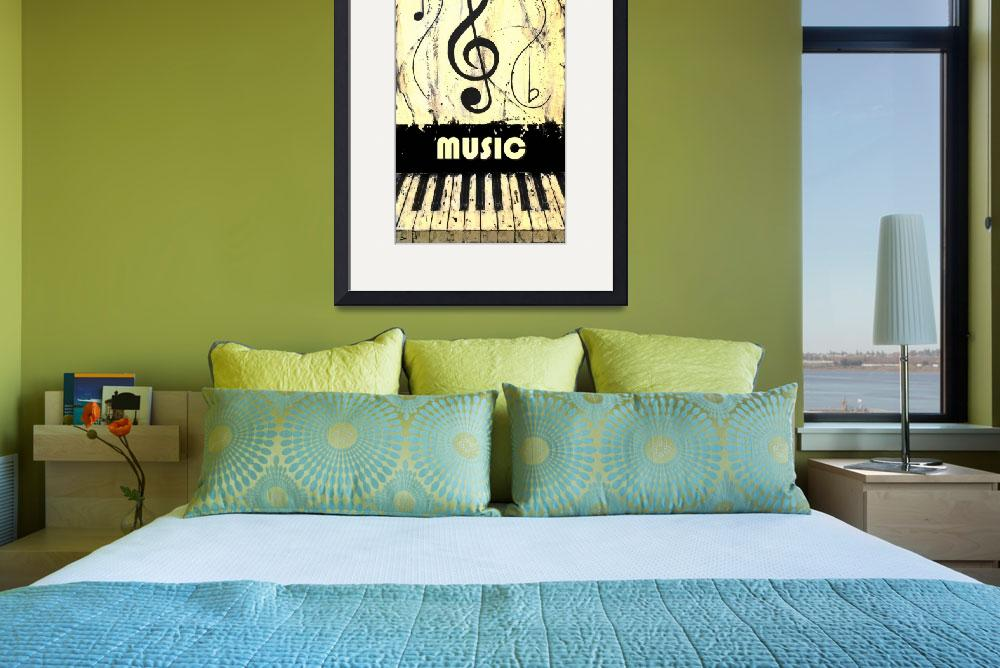 """Music 19 Yellow&quot  by waynecantrell"