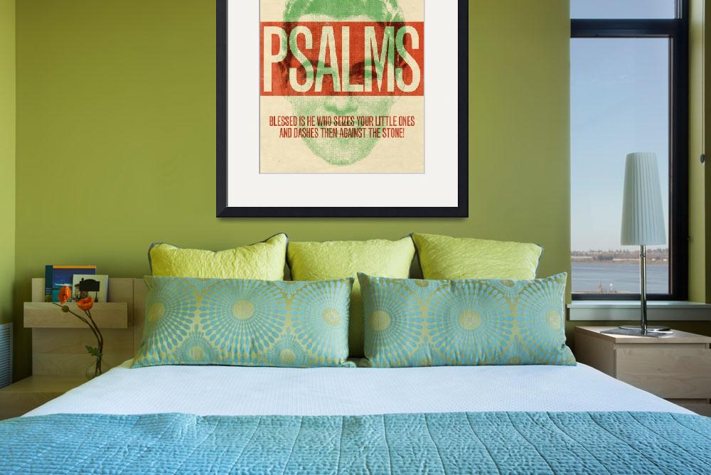 """Word: Psalms 3&quot  by jimlepage"