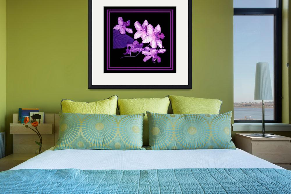 """Purple Orchids by Chip Fatula&quot  (2012) by njchip123"