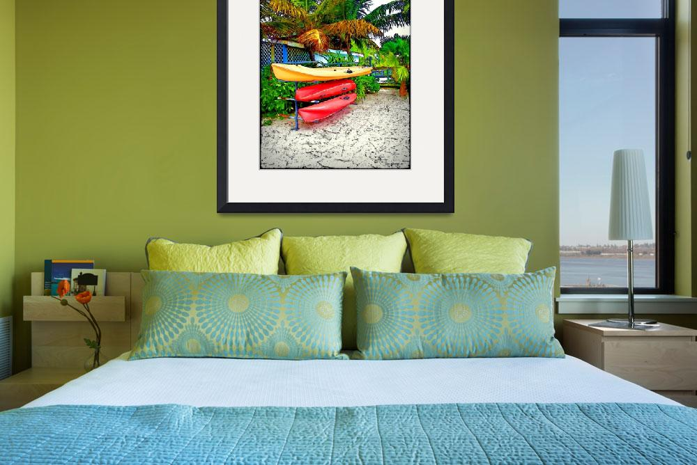 """Kayaks in Paradise&quot  (2011) by jbjoani2"