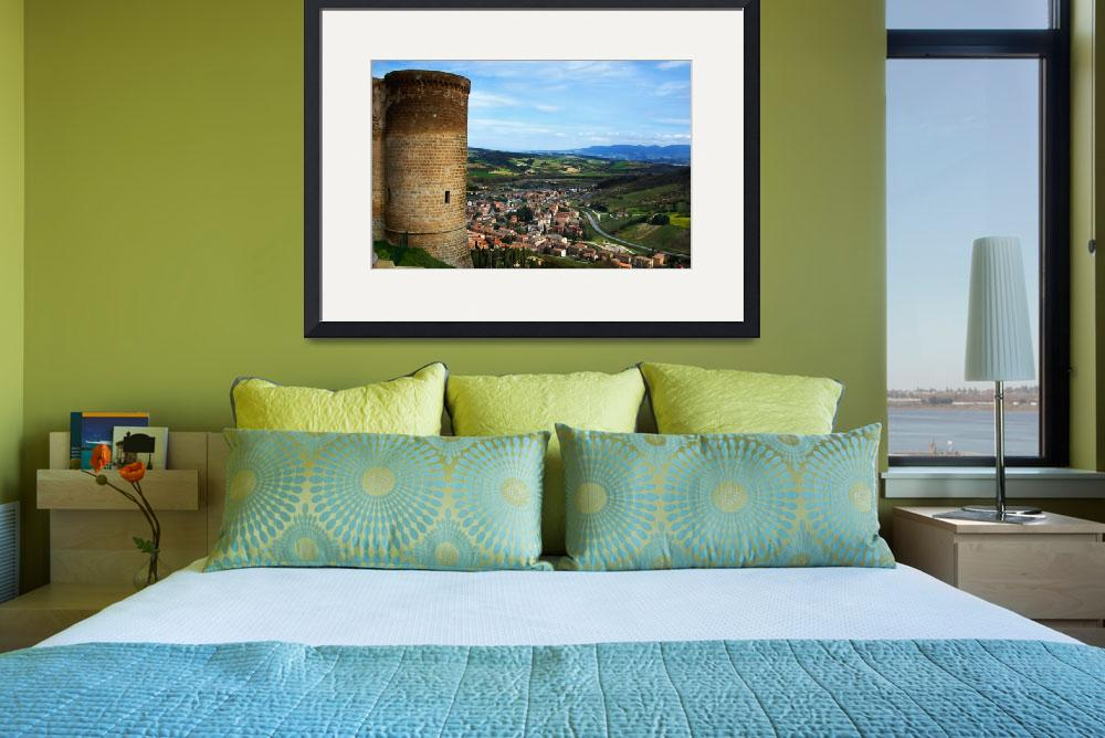 """Orvieto view of the Valley&quot  (2006) by ErinKanoa"