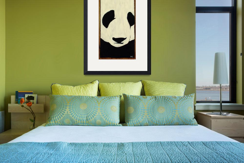 """Panda&quot  (2002) by harryboardman"