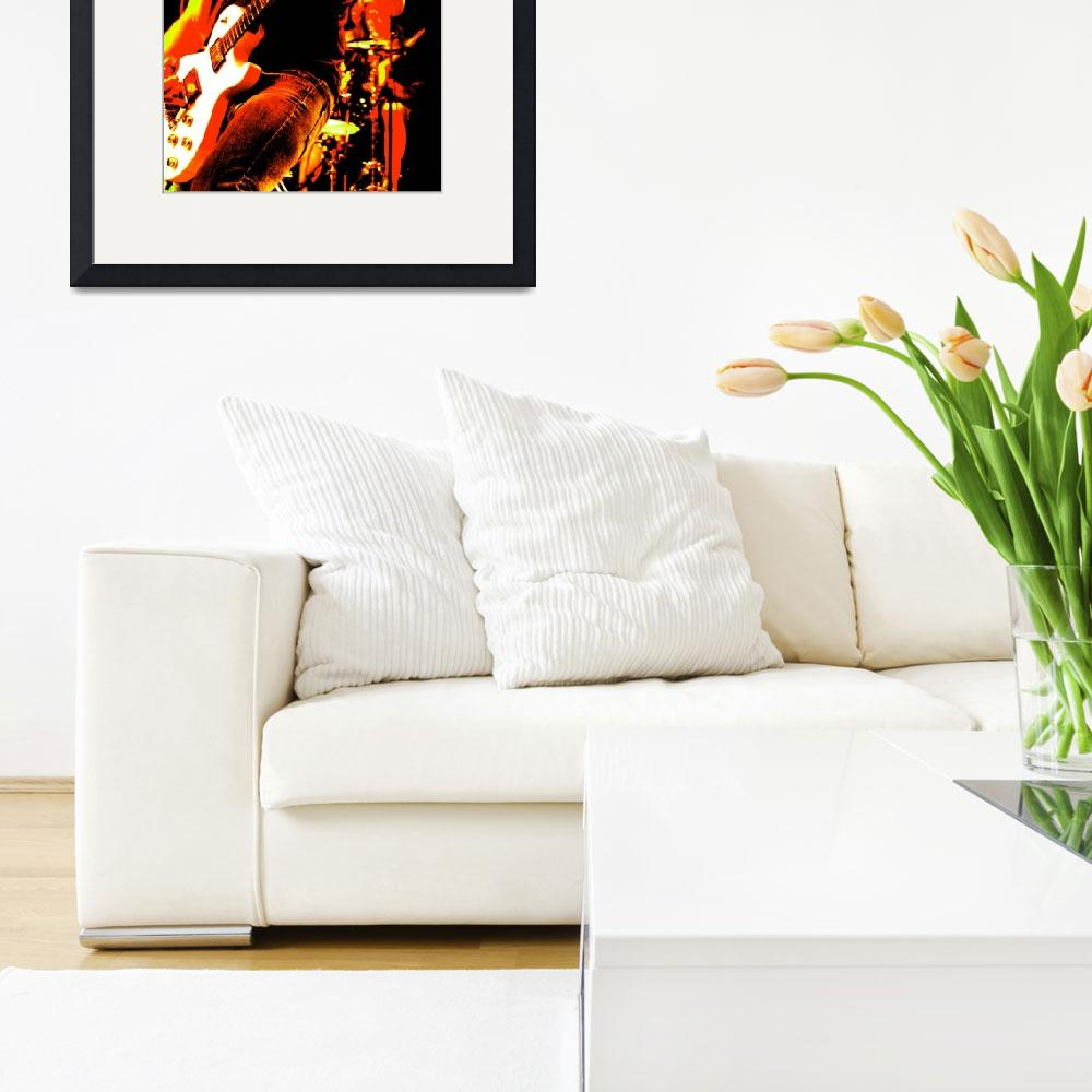 """Jerry Cantrell - Small Art Print&quot  by christinecrusher"