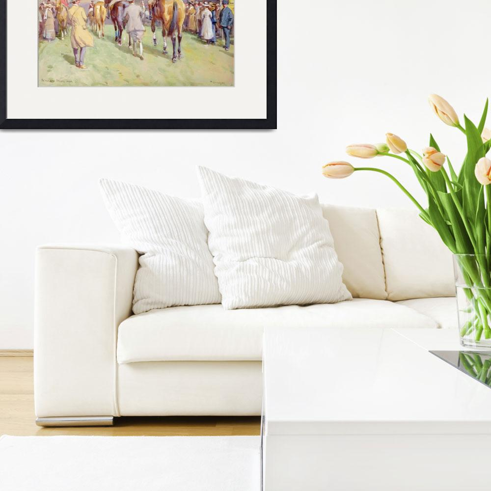 """Hethersett Steeplechases&quot  by fineartmasters"