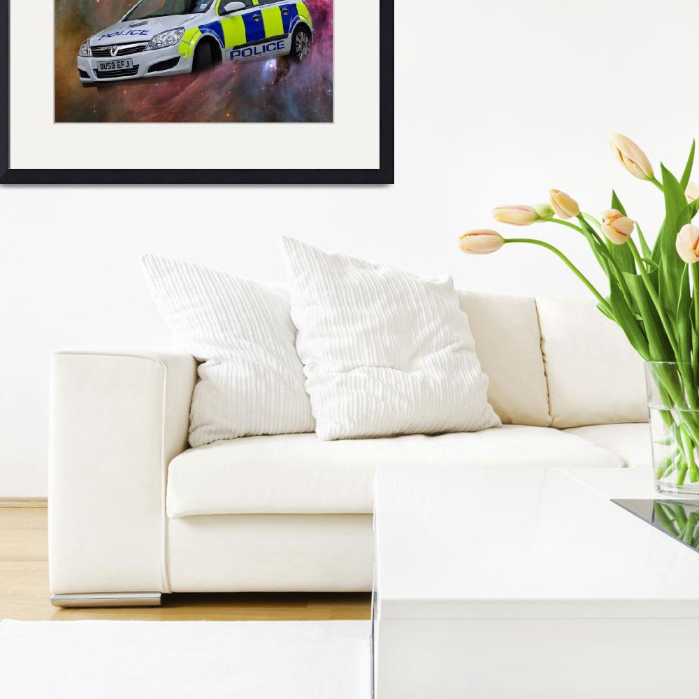 """British Police Car&quot  (2010) by loversdream"