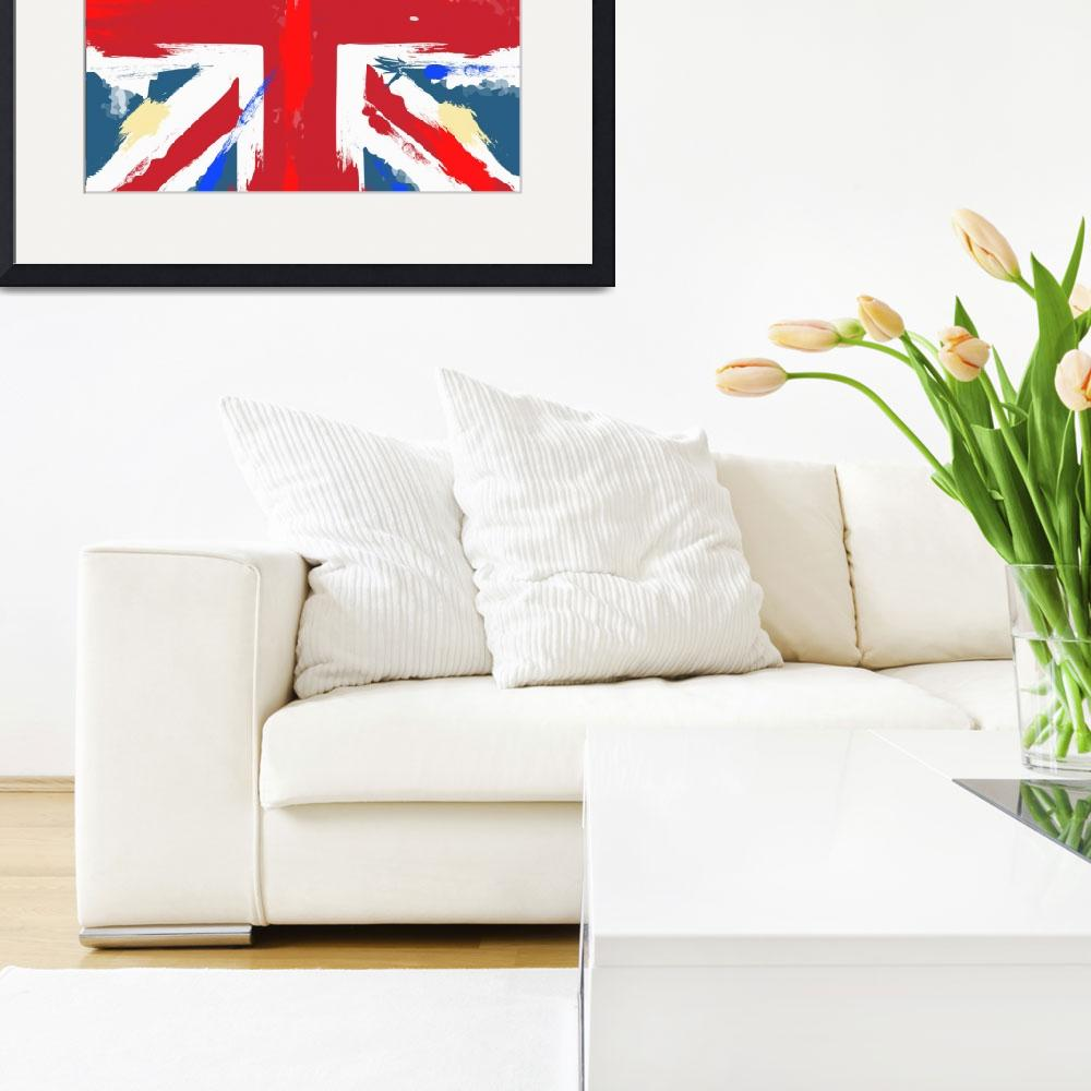 """worn Union Jack&quot  (2012) by vectorwebstore"