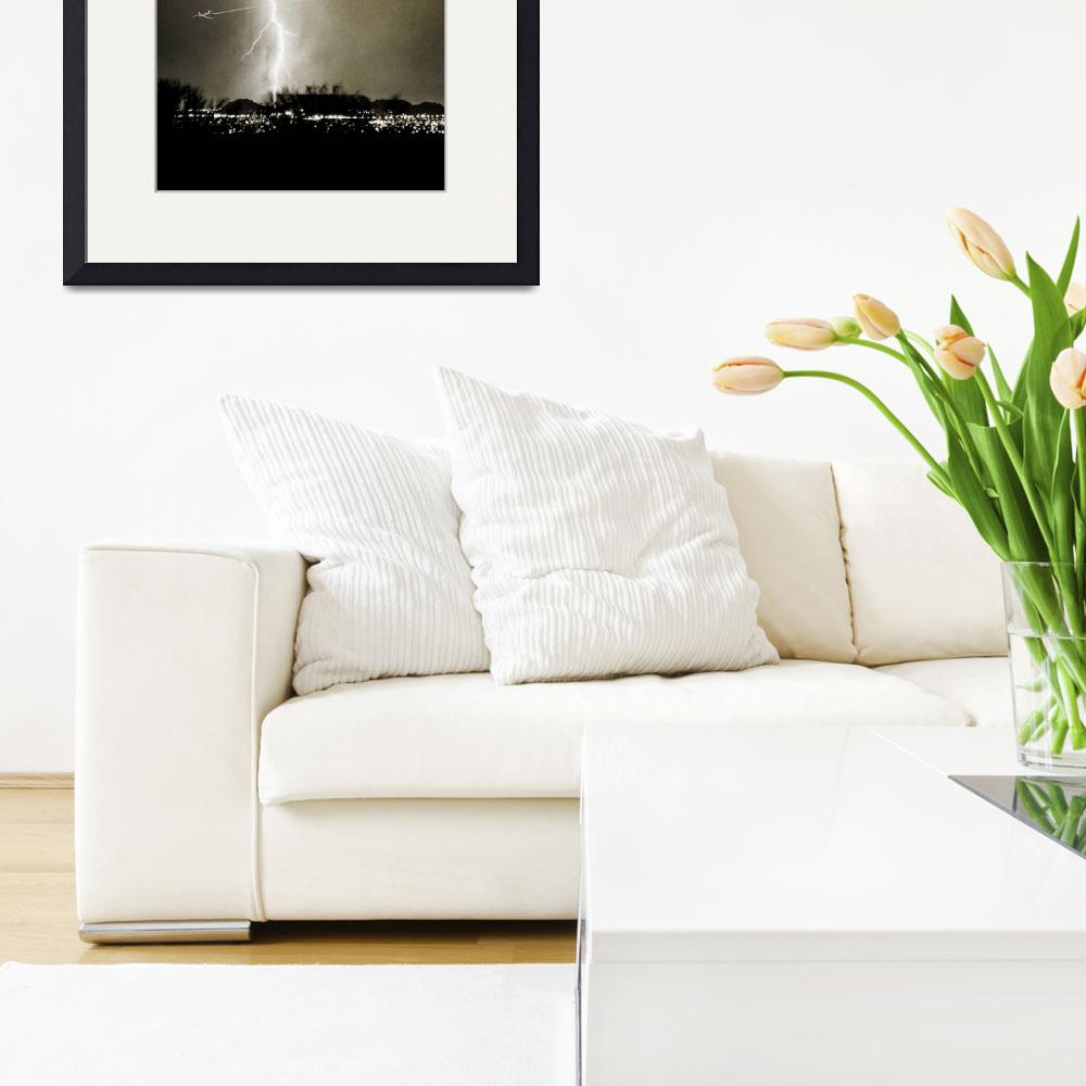 """Bo Trek Lightning Strike - City Lights - Jet&quot  (2009) by lightningman"