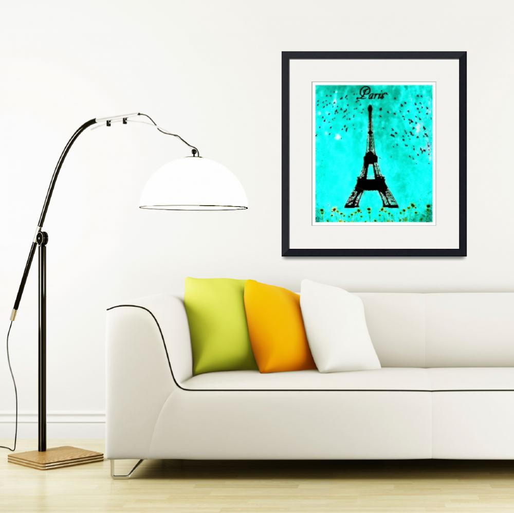 """Eiffel Tower au Printemps&quot  (2012) by JamesHanlon"