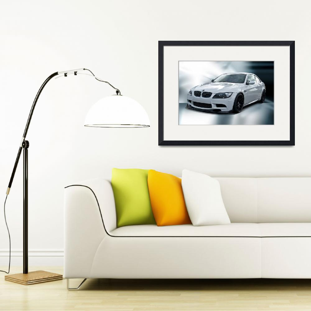 """2008 BMW M3 Sports Coupe&quot  by FatKatPhotography"