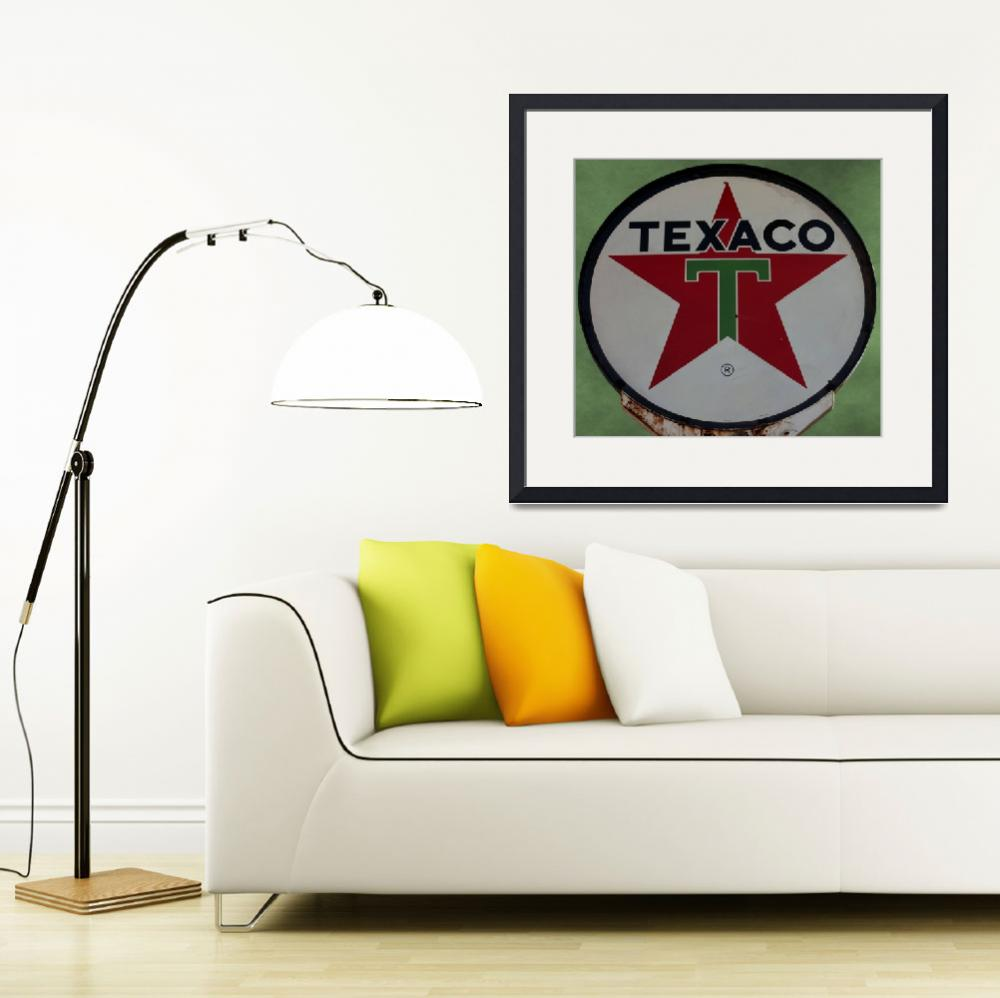 """Texaco Star&quot  (2012) by bettynorthcutt"