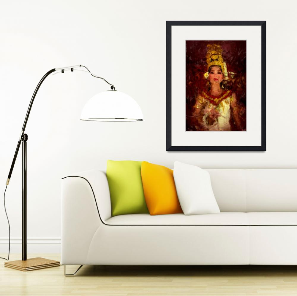 """Apsara Dancing Princess&quot  (2012) by StefanOlivier"