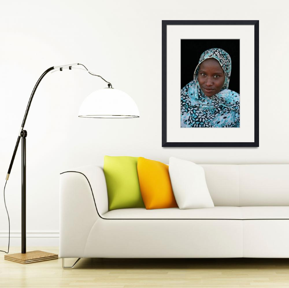 """Mauritanian Woman 3&quot  (2009) by AndreaMoorePhotography"