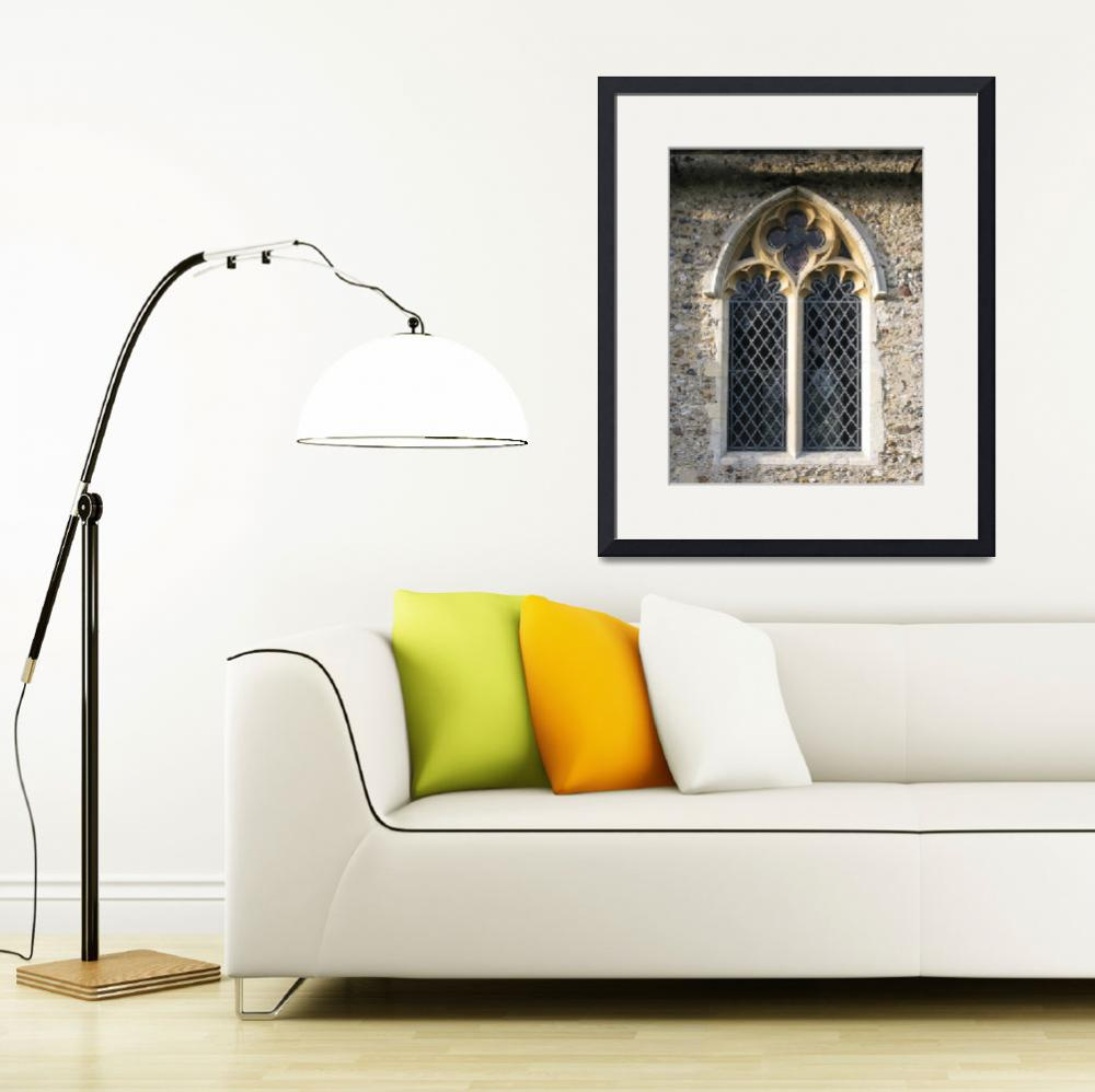 """Gothic church window&quot  (2010) by katien"