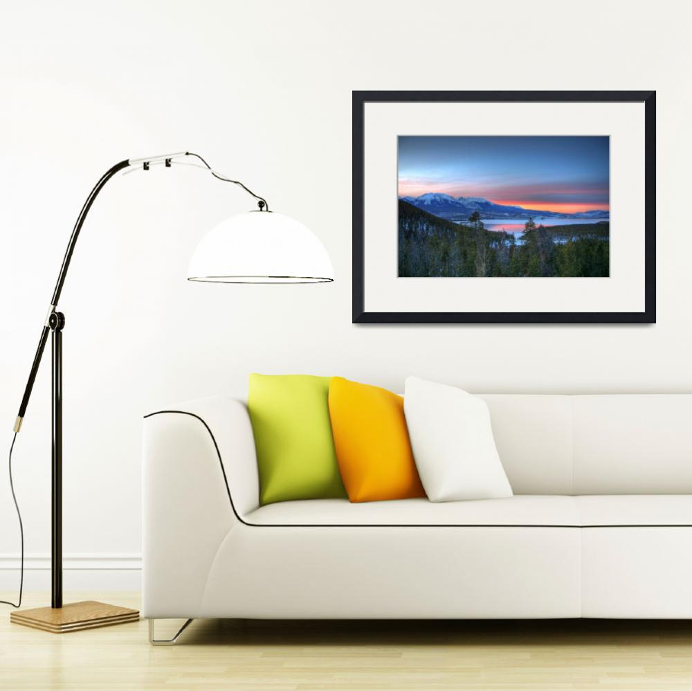 """Lake Dillon East Sunset&quot  by scingram"