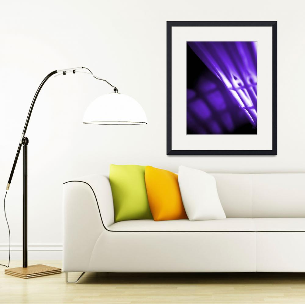 """Purple Abstract Wall Art&quot  by NatalieKinnear"