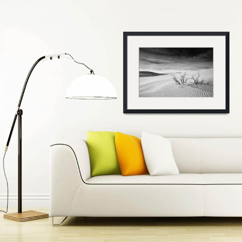 """White Sands Desert&quot  (2012) by miir"