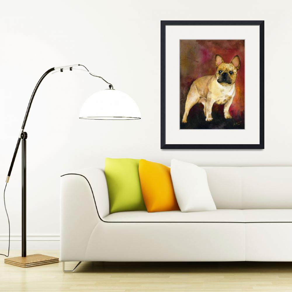 """French Bulldog&quot  (2006) by KathleenSepulveda"