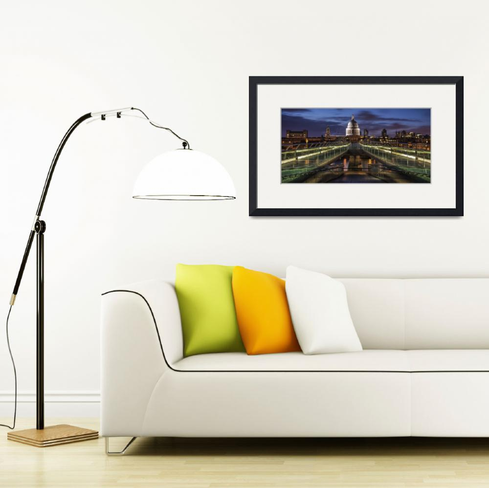 """Symmetries Of London&quot  by artlicensing"