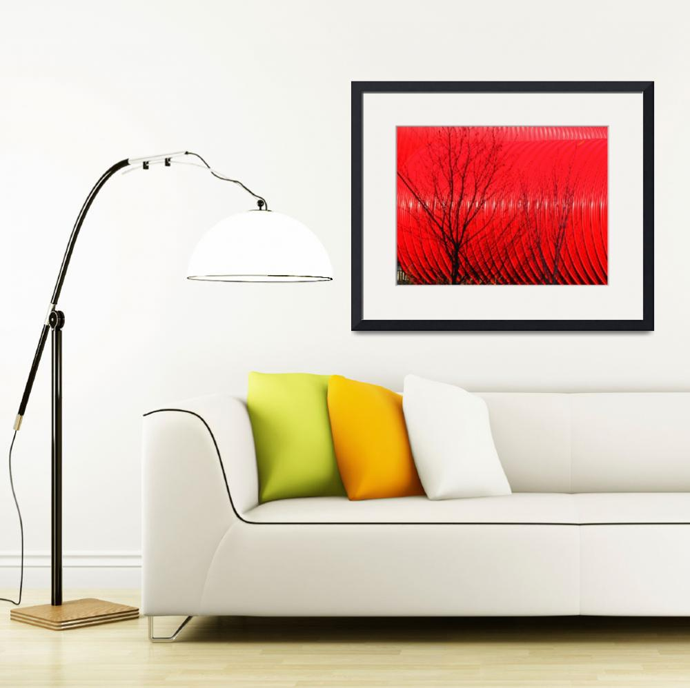 """Nature versus Red&quot  (2010) by Svetlana-Bellon-de-Light"