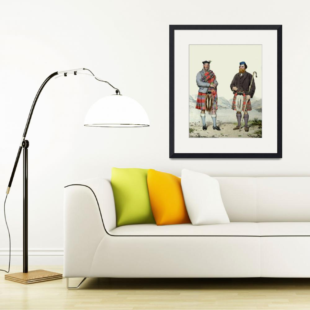 """Robertson & Stewart; Scots Highlanders (MacLeay)&quot  by DezineZone"