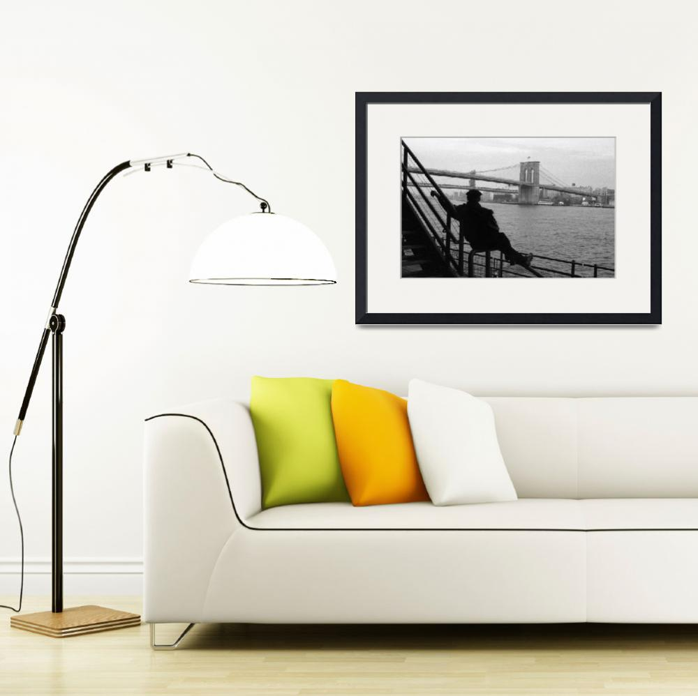 """Brooklyn Bridge&quot  (2004) by BenGillis"