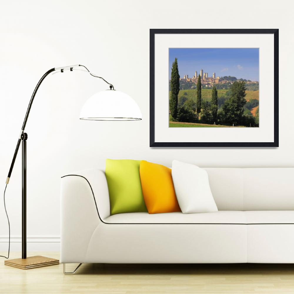 """San Gimignano&quot  (2010) by Inge-Johnsson"