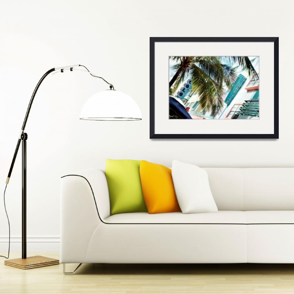 """South Beach Deco&quot  (2003) by PadgettGallery"