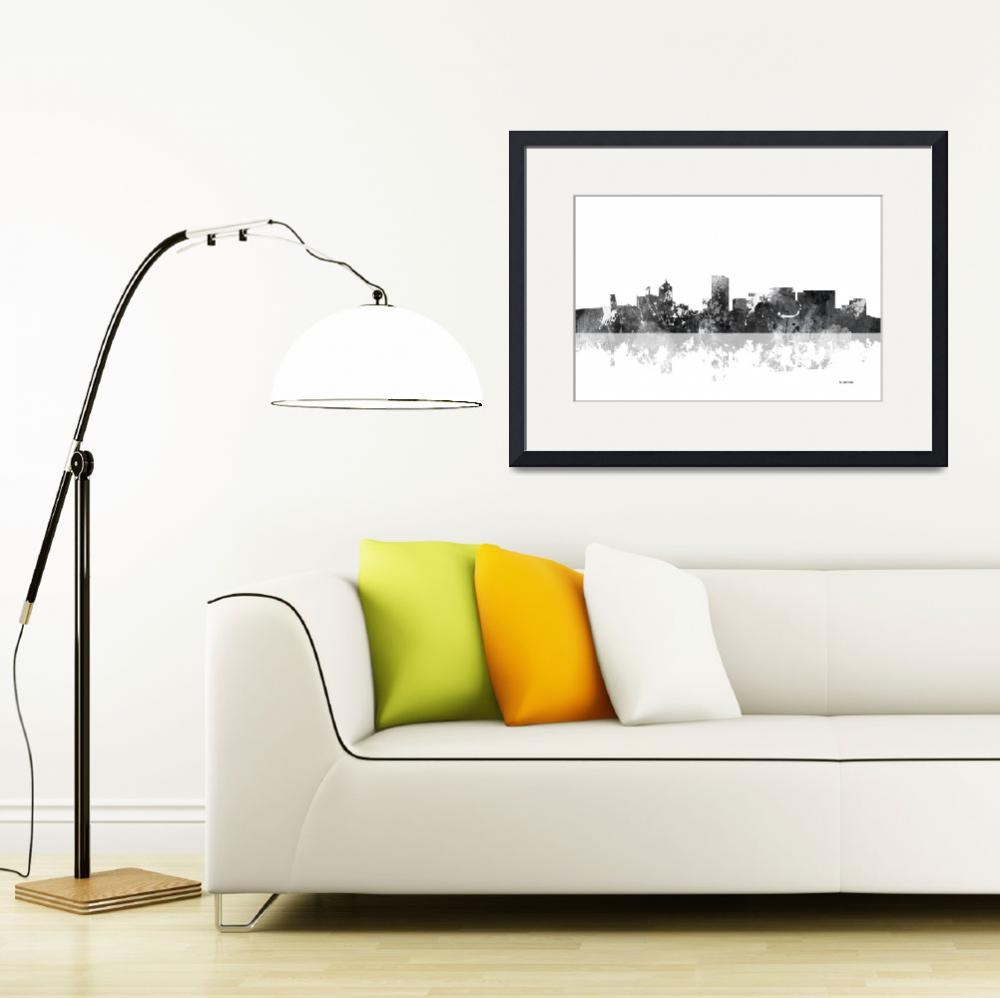 """Portland Oregon Skyline&quot  by MarleneWatson"