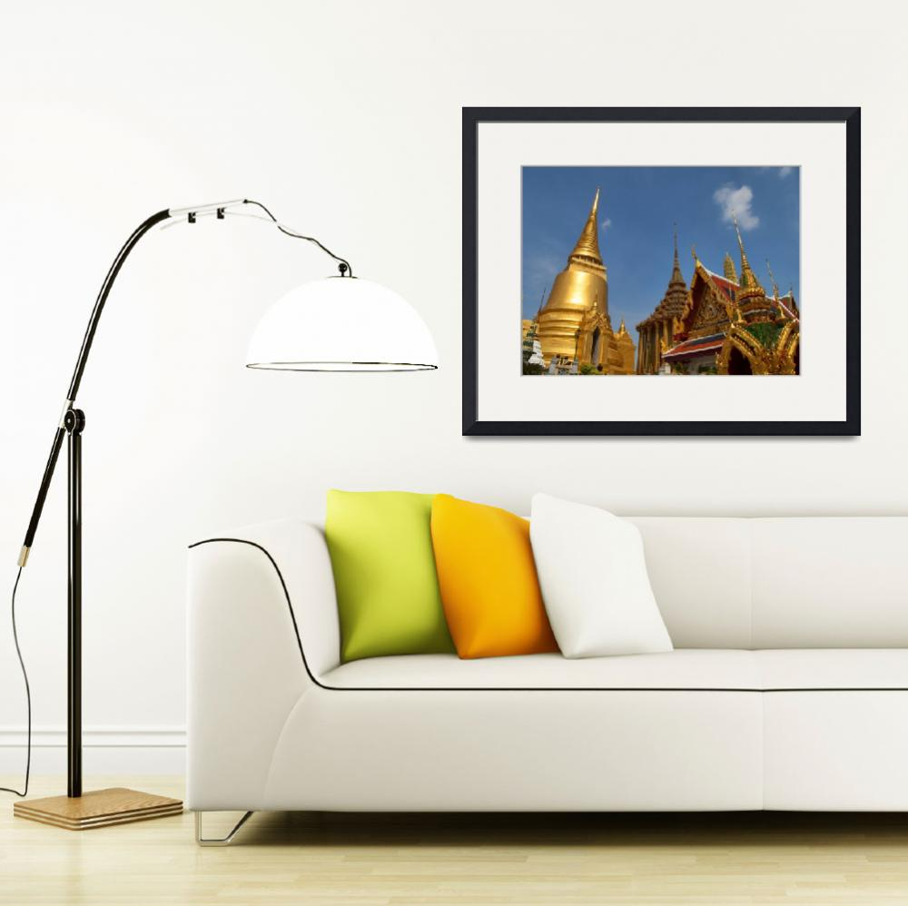 """thai royal palace&quot  by travelbug"
