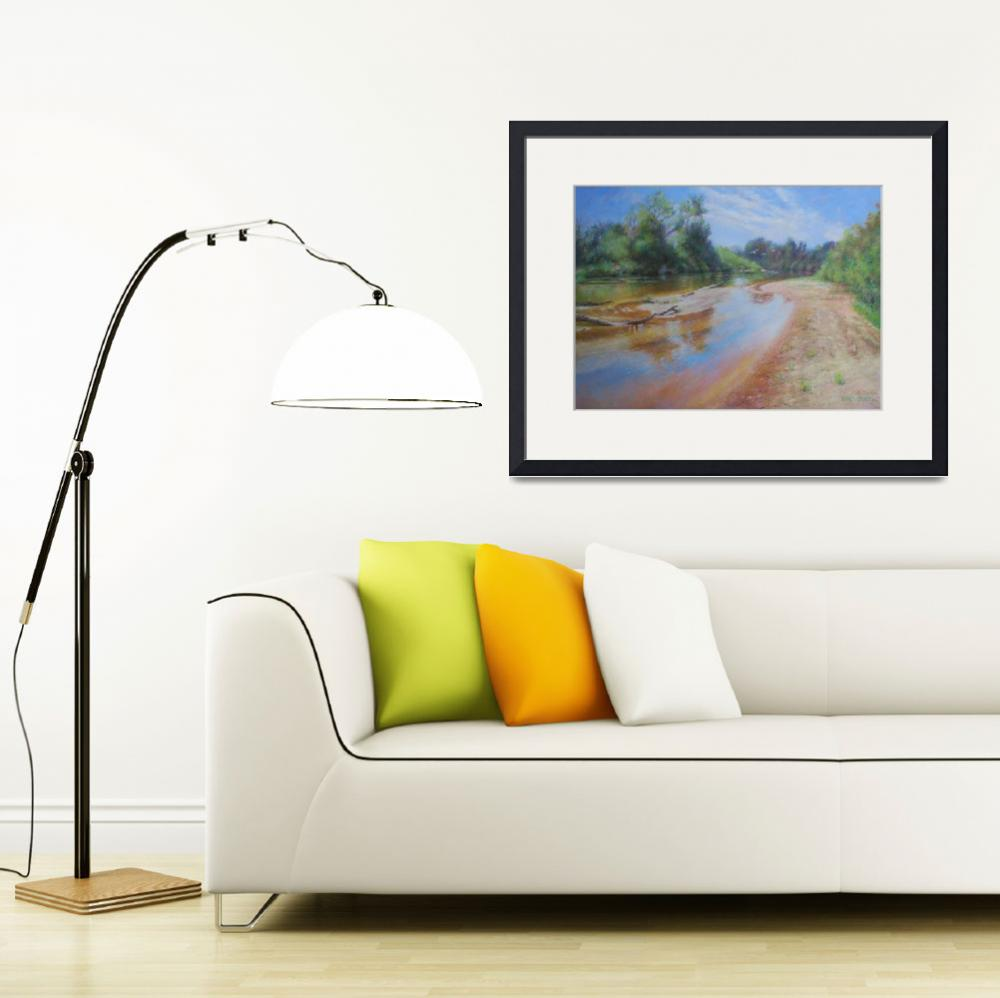 """Landscape Louisiana River&quot  (2012) by landscapeprints"