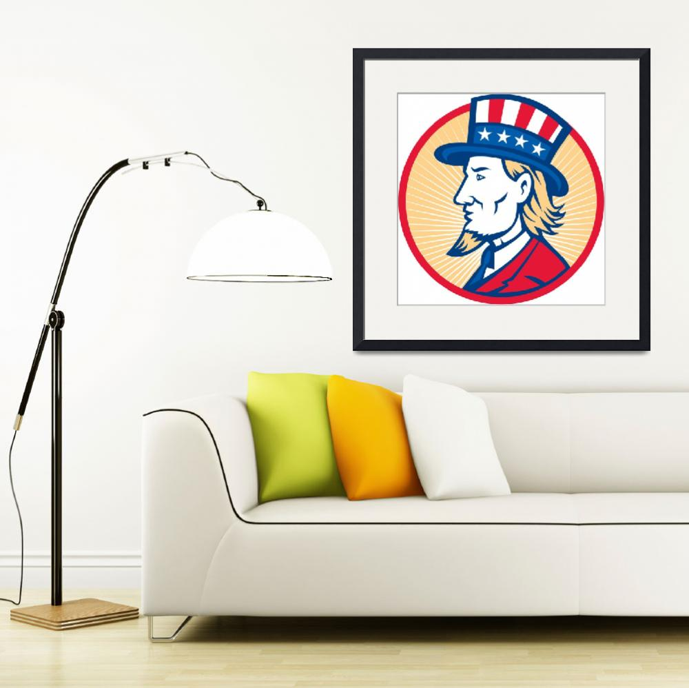 """Uncle Sam American Side&quot  (2013) by patrimonio"