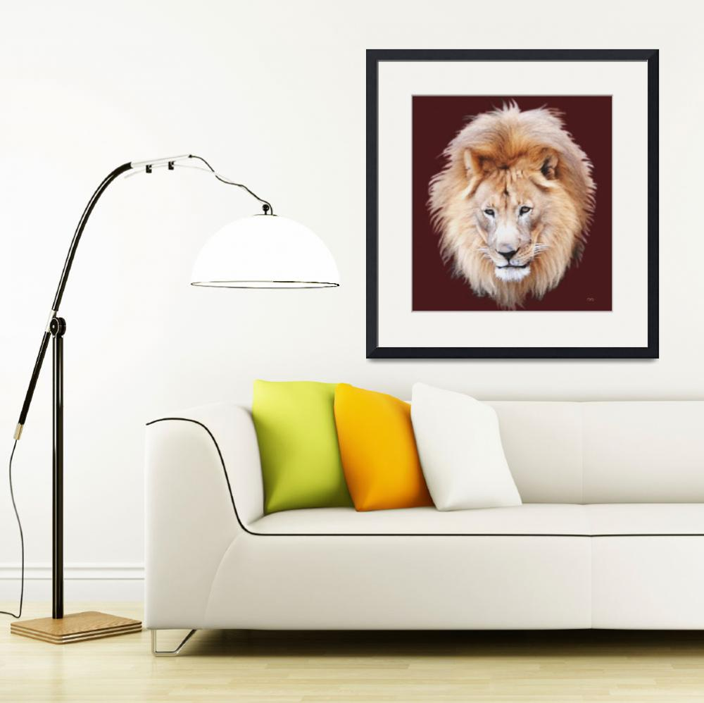"""Lion Portrait&quot  (2011) by AnimalsbyDiDi"