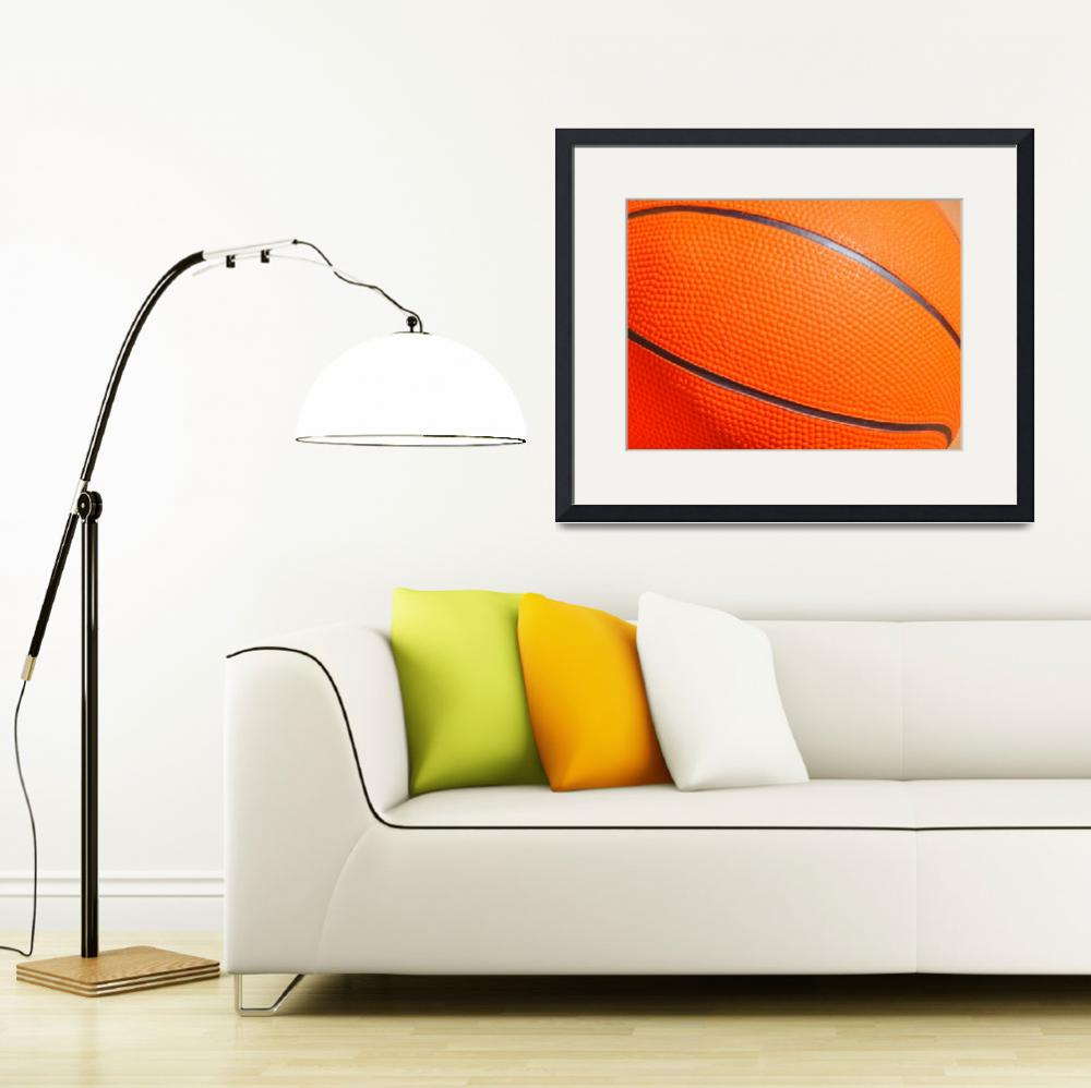 """Orange basketball&quot  (2010) by annav"