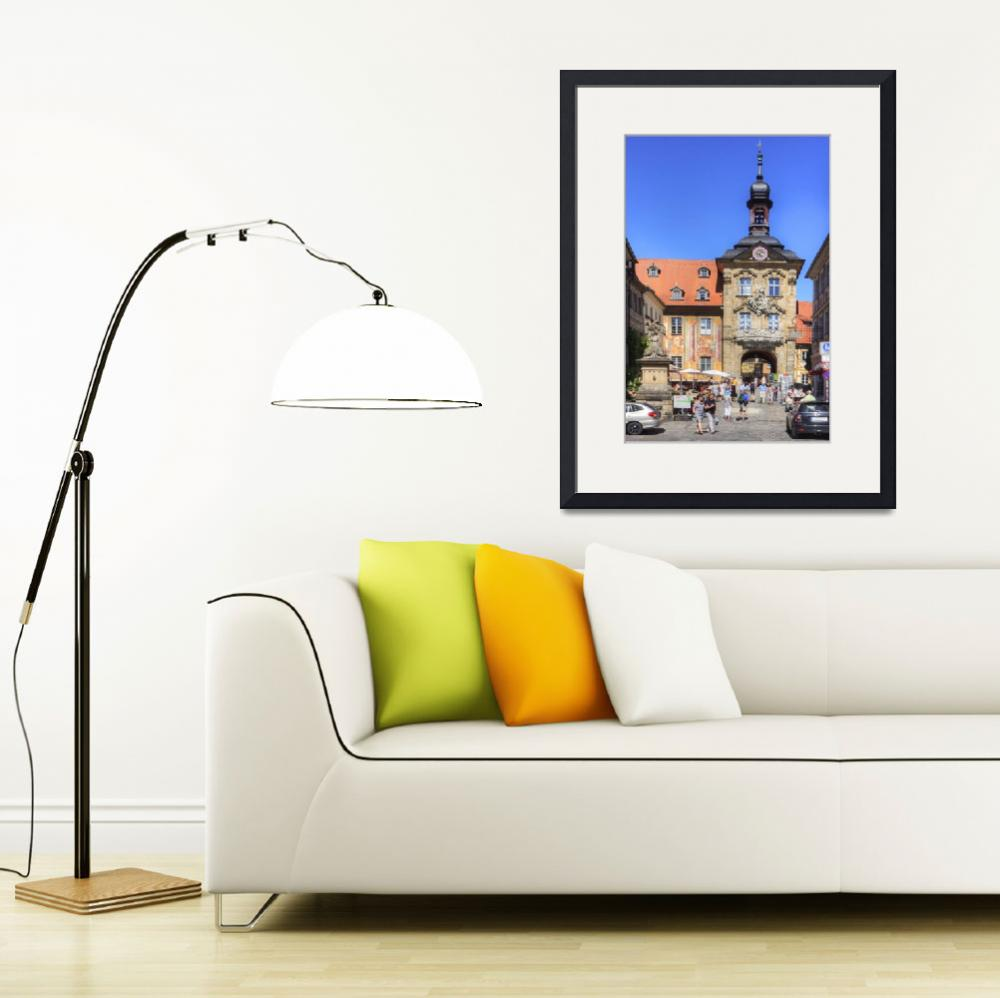 """Bamberg Altes Rathaus&quot  (2016) by TomGomez"