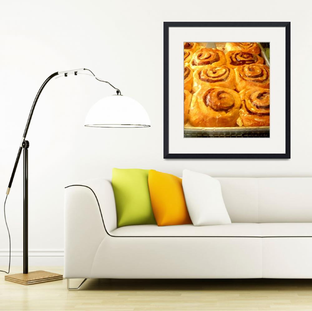 """Sweet Rolls&quot  (2009) by AmyVangsgard"