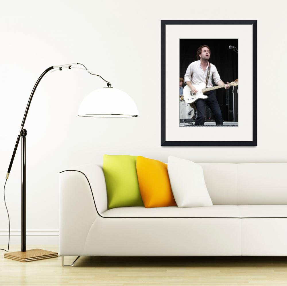 """Musician Taylor Goldsmith&quot  by FrontRowPhotographs"