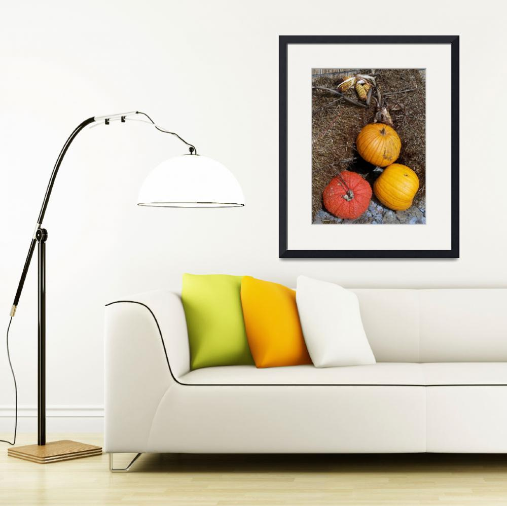 """Pumpkin Harvest&quot  (2009) by SherryHolderHunt"