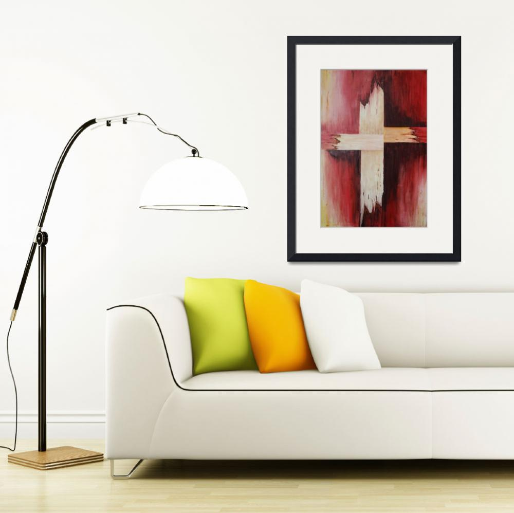 """The Cross - large&quot  (2008) by MelaniePruitt"